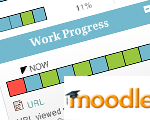 Moodle track progress