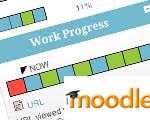 Moodle track progress