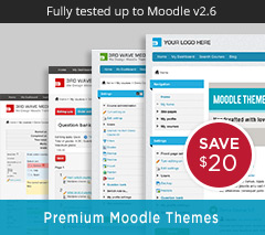 Moodle 2.x Themes