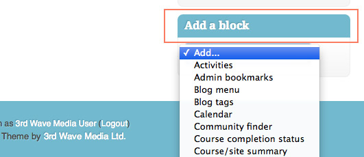 moodle-add-block