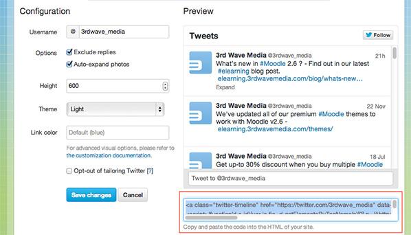 twitter-widget-code