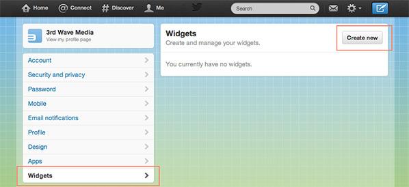 twitter-widget-create