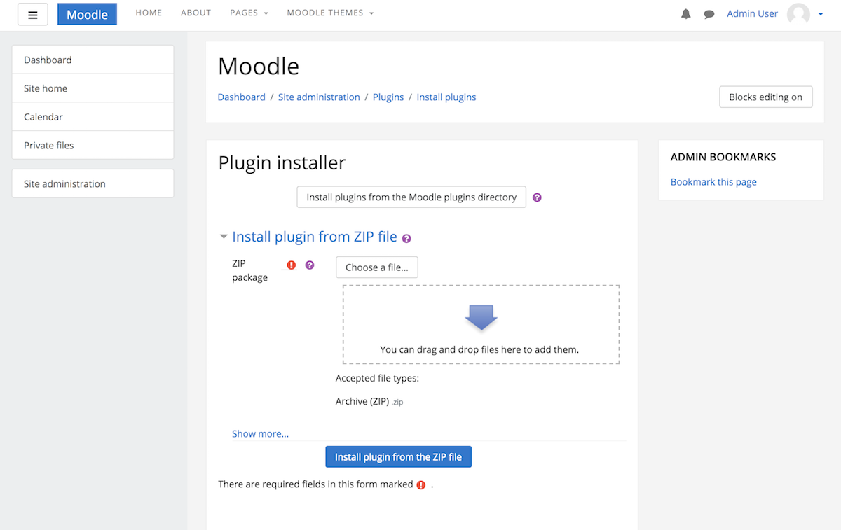 moodle-theme-install-via-plugins-page