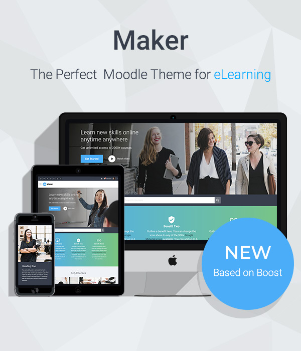 Responsive Moodle Theme Labland