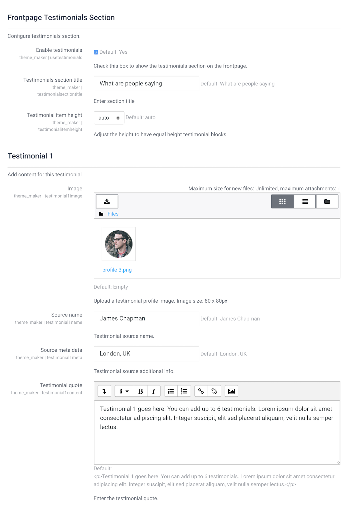 moodle-theme-maker-testimonials-settings