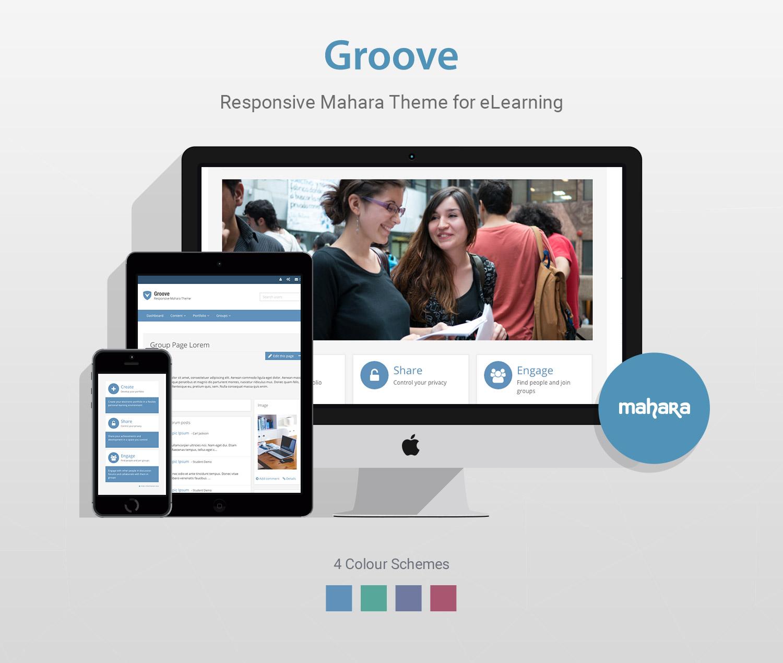 Responsive-Mahara-Theme-Groove-Promo-full