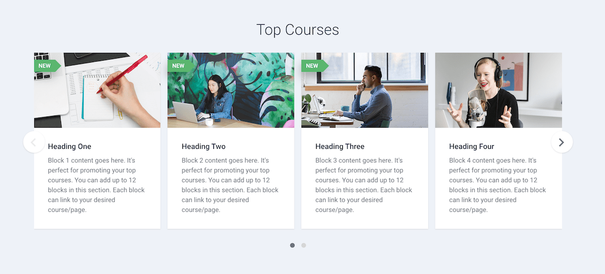 moodle-maker-theme-front-page-featured-courses