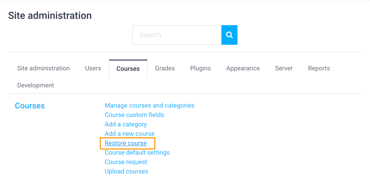 moodle-course-restore-course-option